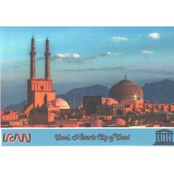 کارت پستال ایرانی - آثار ملی ثبت شده در یونسکو - شهر تاریخی یزد - یزد