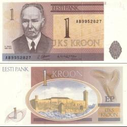 اسکناس 1 کرون - استونی 1992