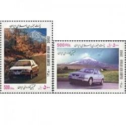 2899 تمبر نخستین خودرو ملی ایران 1380