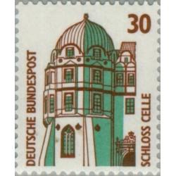 1 عدد تمبر سری پستی مناظر  - 30 فنیک  -جمهوری فدرال  آلمان 1987