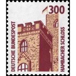 1 عدد تمبر سری پستی مناظر  - 300 فنیک  -جمهوری فدرال  آلمان 1988