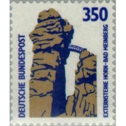 1 عدد تمبر سری پستی مناظر  - 350 فنیک  -جمهوری فدرال  آلمان 1989