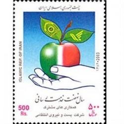 2962 تمبر پست و نیروی انتظامی 1382