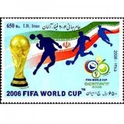 3040 تمبر جام جهانی آلمان 1385