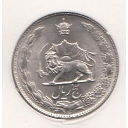 سکه پنج ریال محمدرضا پهلوی 1353 بانکی با کاور - ح
