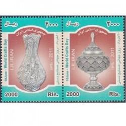 3252 تمبر روز جهانی صنایع دستی 1390