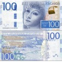 اسکناس 100 کرون - سوئد 2016
