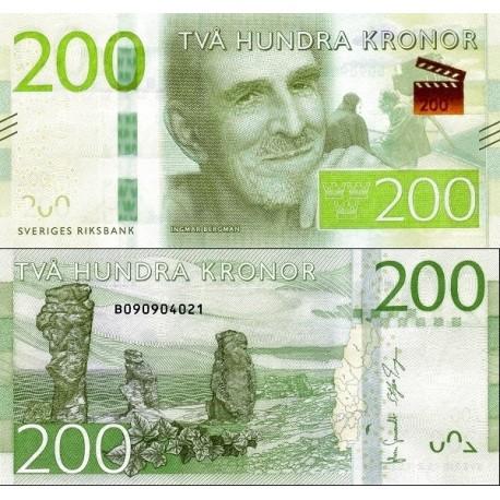 اسکناس 200 کرون - سوئد 2015