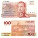 اسکناس 100 فرانک - لوگزامبورگ 1986 سری L-...