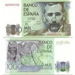 اسکناس 1000 پزوتا - اسپانیا 1979