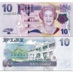 اسکناس 10 دلار - فیجی 2011