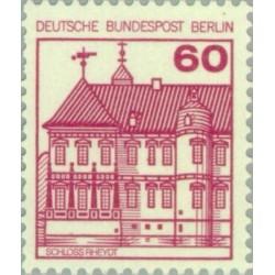 1 عدد تمبر سری پستی - قلعه ها و قصرها - 60 فنیک - برلین آلمان 1979