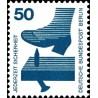 1 عدد تمبر سری پستی - پیشگیری از حوادث - 50 فنیک - برلین آلمان 1971