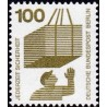 1 عدد تمبر سری پستی - پیشگیری از حوادث - 100 فنیک - برلین آلمان 1971