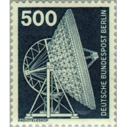 1 عدد تمبر سری پستی - صنایع و تکنیک - 500 فنیک - برلین آلمان 1975 قیمت 6.7 دلار