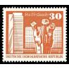 1 عدد تمبر سری پستی -  30 فنیک - جمهوری دموکراتیک آلمان 1973