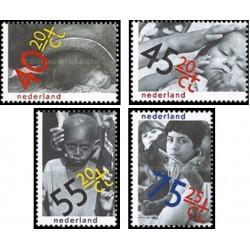 4 عدد تمبر مواظبت از کودک  - هلند 1979