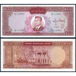133 - اسکناس 100 ریال عبدالحسین بهنیا - مهدی سمیعی 1343 دوره اول - تک