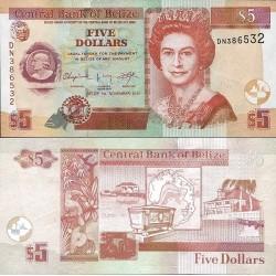 اسکناس 5 دلار - بلیز 2011