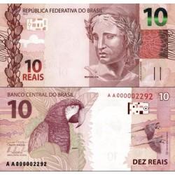 اسکناس 10 ریاس - برزیل 2010