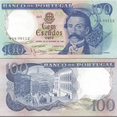 اسکناس 100 اسکودو - پرتغال 1965