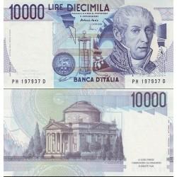 اسکناس 10000 لیر - ایتالیا 1984