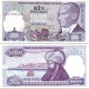 اسکناس 1000 لیر ترکیه - 1970 سری F-I, J(01-74)