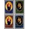 4 عدد تمبر کریستمس - سنت لوئیس 1968
