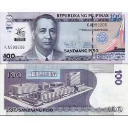 اسکناس 100 پیزو - یادبود سال ملی برنج - فیلیپین 2013