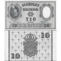 اسکناس 10 کرون - سوئد 1957 امضا مطابق عکس توضیحات