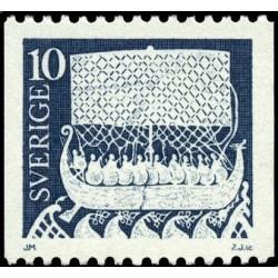 1 عدد تمبر سری پستی - سوئد 1973
