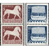 2 جفت تمبر  سری پستی - جفت بوکلت - سوئد 1973