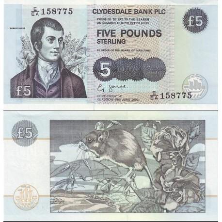 اسکناس 5 پوند استرلینگ - اسکاتلند 2002 تاریخ  19.06.2002