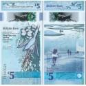 اسکناس پلیمر 5 پوند استرلینگ - ایرلند شمالی 2018