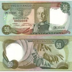 اسکناس 50 اسکودو - آنگولا 1972