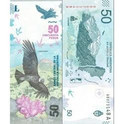 اسکناس 50 پزو - آرژانتین 2018