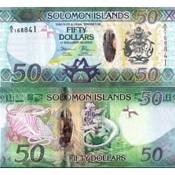 اسکناس پلیمر 50 دلار - جزایر سلیمان 2017