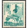 1 عدد تمبر کنگره بین المللی اسپرانتو راه آهن - مجارستان 1962