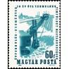 1 عدد تمبر روز معدنچیان  - مجارستان 1964