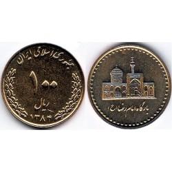 سکه 100 ریالی - برنز - جمهوری اسلامی 1384 بانکی
