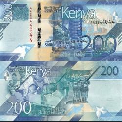اسکناس 200 شیلینگ - کنیا 2019
