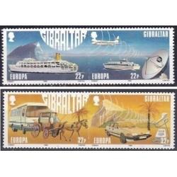 4 عدد تمبر مشترک اروپا - Europa Cept  - حمل و نقل و ارتباطات - جبل الطارق 1988 قیمت 7.7 دلار