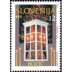 1 عدد تمبر کریستمس - اسلوونی 1994