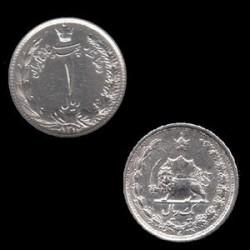 سکه نقره 1 ریال رضا شاه 1313 ه ش
