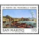 1 عدد تمبر نمایشگاه بین المللی فیلاتلی اروپا ، ناپل - سان مارینو 1980