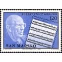 1 عدد تمبر صدمین سالگرد تولد روبرت استولز - آهنگساز - سان مارینو 1980
