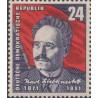 1 عدد تمبر کارل لیبنشت - سوسیالیست - جمهوری دموکراتیک آلمان 1951 با شارنیه - قیمت 8.8 دلار