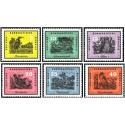 6 عدد تمبر پرندگان - جمهوری دموکراتیک آلمان 1959 قیمت 8.6 دلار