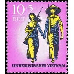 1 عدد تمبر ویتنام  - جمهوری دموکراتیک آلمان 1969
