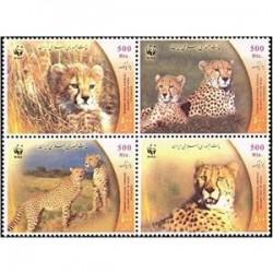 2974 تمبر گونه های در حال انقراض 1382